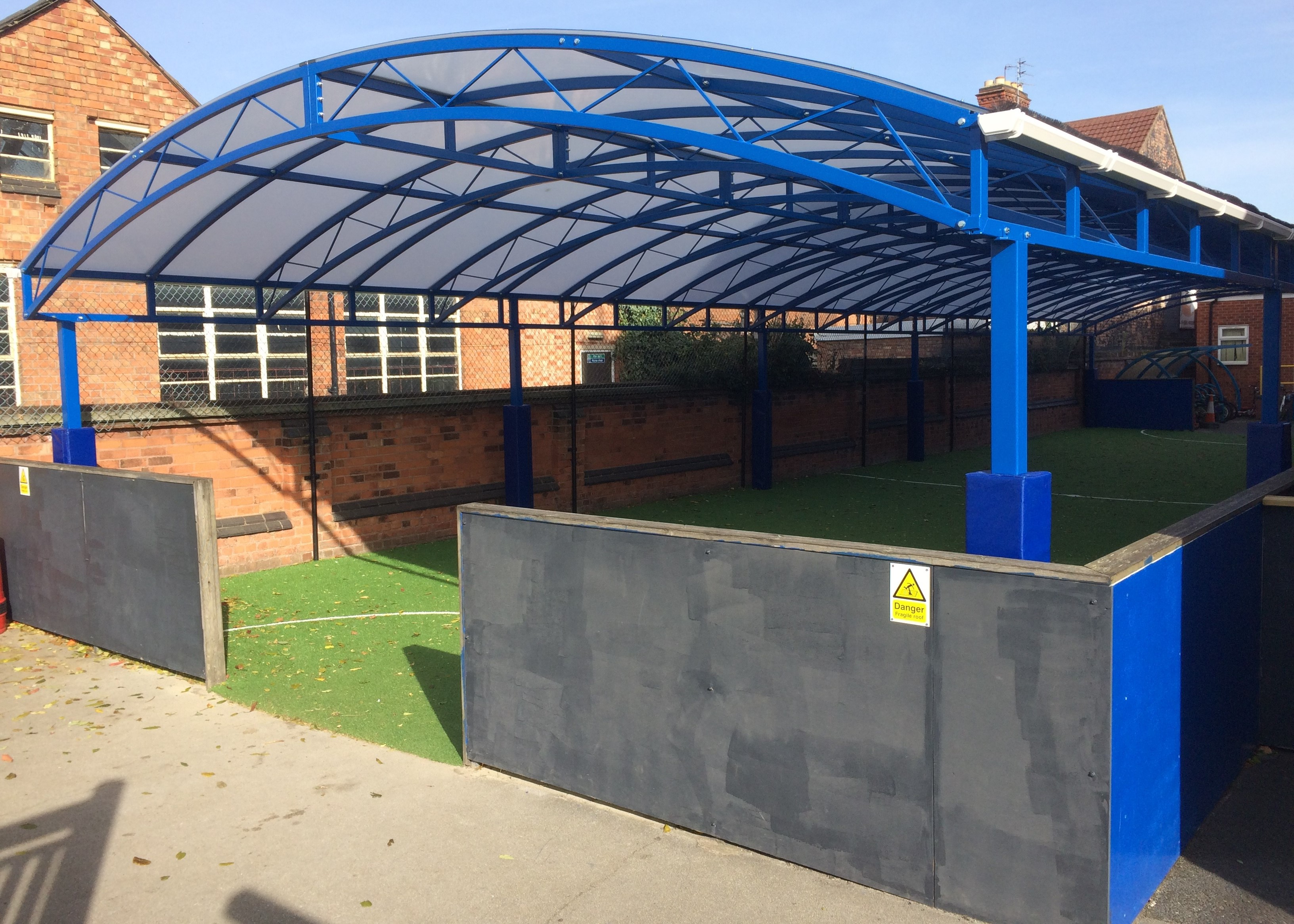 All Weather Sports Area Outside
